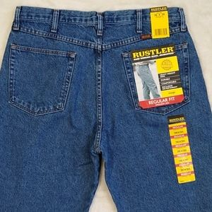 New Rustler Jeans size 36x30 Straight